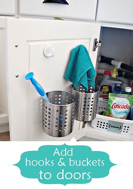kitchen sink organizing ideas 8 smart organizing tips for the kitchen