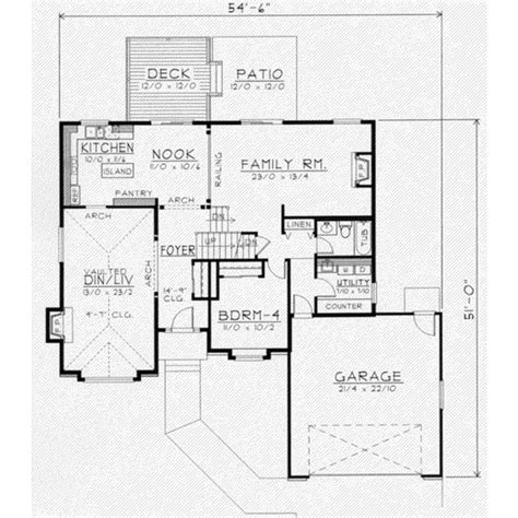 Traditional Plan 3 065 Square 4 Bedrooms 3 Traditional Style House Plan 4 Beds 3 Baths 2269 Sq Ft
