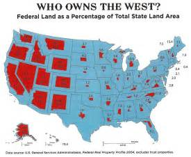 land maps just how much land does the federal government own and