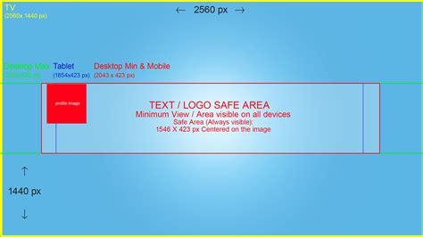 youtube desktop banner size best business template