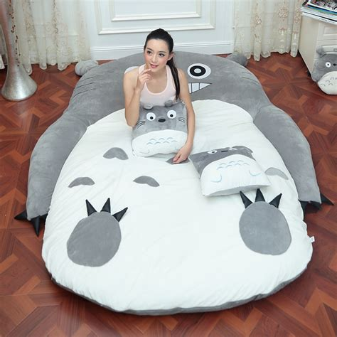 giant totoro bed aliexpress com buy 4 size large totoro single and double