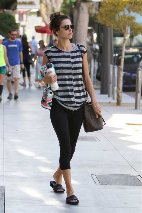 Alessandra Ambrosio Uh Walks Around by Alessandra Ambrosio Walks To Car After Leaving A