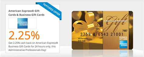 Amex Gift Card Cash Back - amex gift cards with 2 25 cash back today only deals we like