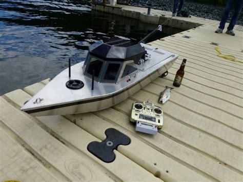 rc fishing boat homemade rc fishing machine