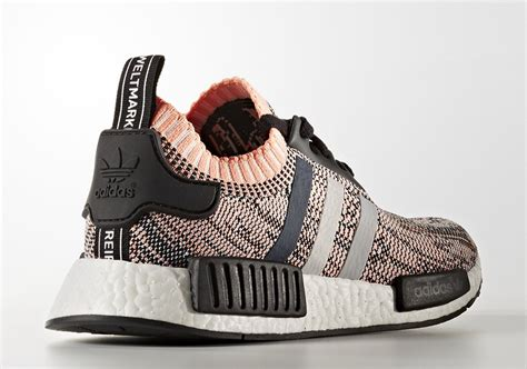 Po Nmd R1 Primeknit Salmon adidas nmd 2017 pink glitch camo release date sneakernews