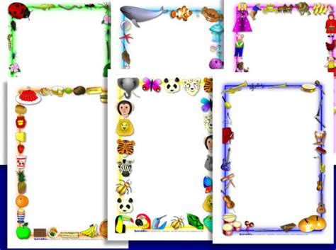 borders  word   clip art  clip