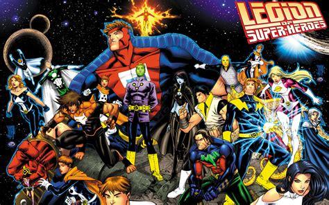 dc comics legion of super heroes dc comics wallpaper 4411668 fanpop