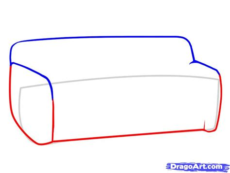 how to draw a couch easy how to draw furniture step by step stuff pop culture