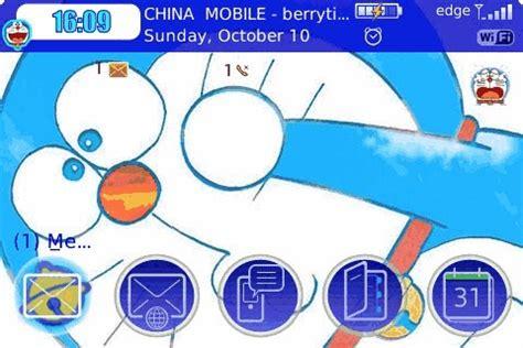 wallpaper doraemon untuk bb download tema doraemon untuk blackberry terbaru