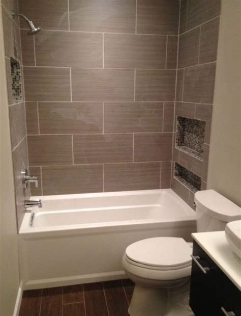 Shower Cubby Holes by Like The Floor With This Tile Cubby Holes Are Tiled Also New Bathroom The