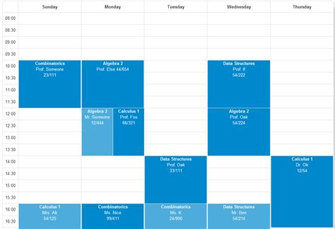 create layout with javascript javascript designing a dynamic responsive week calendar