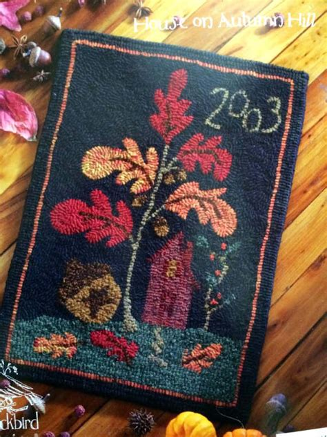 Traditional Rug Hooking Patterns by In Praise Of Autumn Three Hooked Rug Patterns By