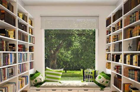 inspirasi desain perpustakaan  rumah arsitag