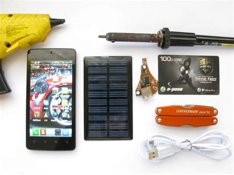 diy solar phone charger diy solar phone charger 5 battery free updated