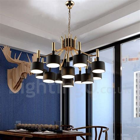 Dining Room Chandeliers Contemporary Modern Contemporary 12 Light 2 Tier Chandelier L For Dining Room Living Room Light Lightingo