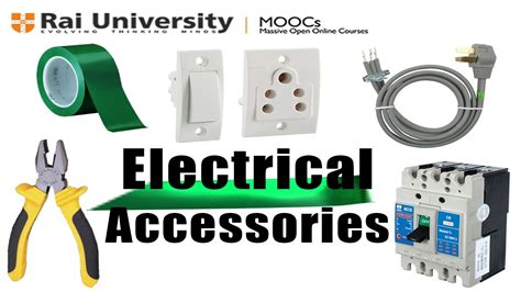 electrical accessories electrical accessories learn to be an electrician youtube