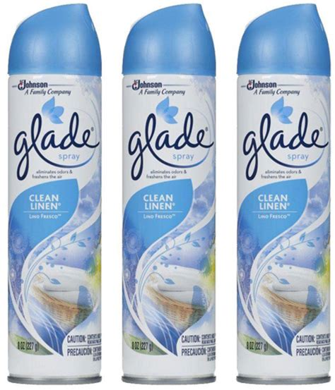 Glade Bathroom bathroom spray air freshener my web value