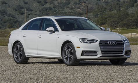 audi a4 white 2017 2017 audi a4 first drive review 187 autonxt