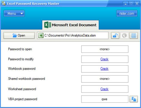 ms excel vba password recovery free how to crack the vba excel password recovery master scarica gratis il tool per