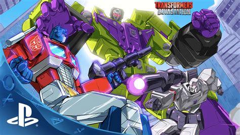 Ps4 Transformers Devastation transformers devastation teaser trailer