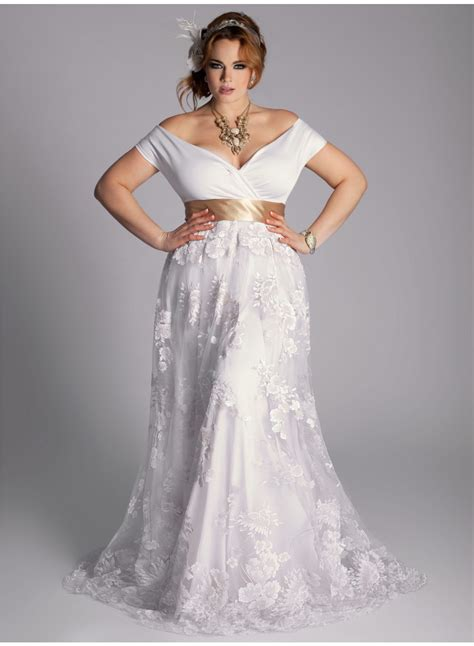 Wedding Dresses Plus Size by Plus Size Vintage Wedding Dress