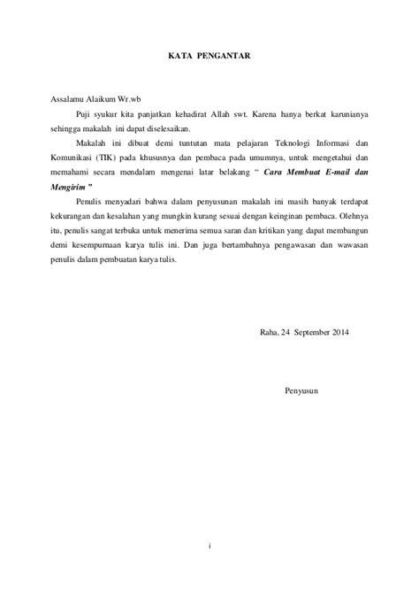 pembuatan kata pengantar dalam makalah makalah pembuatan email 3