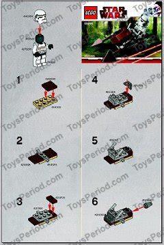 Imperial Speeder Bike Polybag lego 30005 imperial speeder bike set parts inventory and