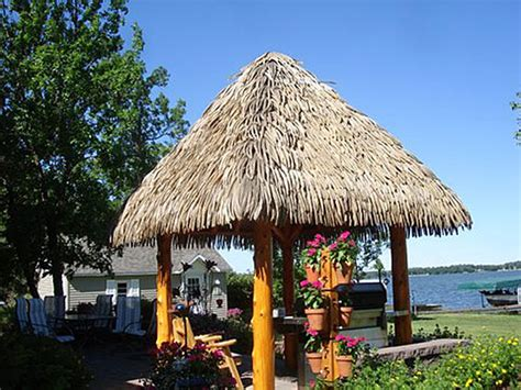 Tiki Hut Thatch Palmex 174 Artificial Synthetic Palapa Thatch Roofing