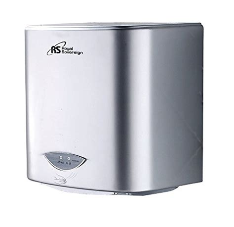 seconds bathroom supplies royal sovereign rthd 421s touchless automatic hand dryer
