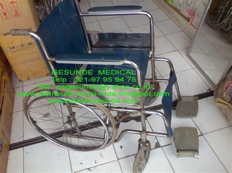 jual kursi roda standard bekas longchair toko medis