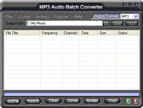 audio format wav to mp3 download mp3 audio batch converter from files32 audio
