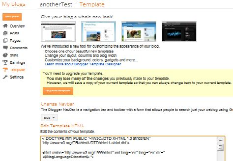 custom templates for blogger types of blogger template theme blogger hints and tips