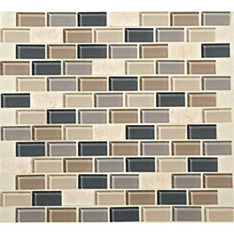 tile pattern daltile this photo features skyline 3 4 x 1 1 2 brick joint mosaic