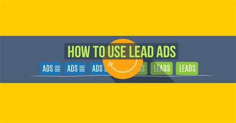 how to use a lead how to use lead ads on build a real email marketing list