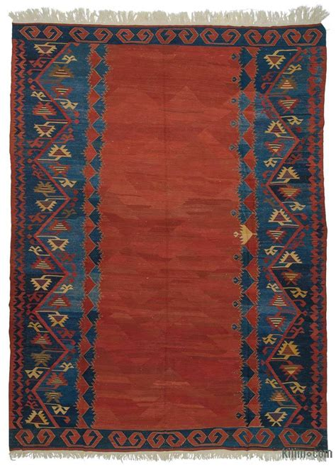 turkish kilim rug k0021072 blue new turkish kilim rug