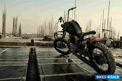 Modified Bike For Sale In Jaipur by Black Modified Bike Yezdi Classic 250 For Sale In Jaipur