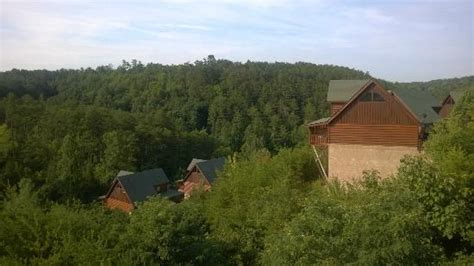 Creek Crossing Cabins by Higher Ground Cabin View From Back Porch Picture Of