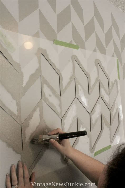 paint patterns for walls 25 best ideas about herringbone wall on pinterest