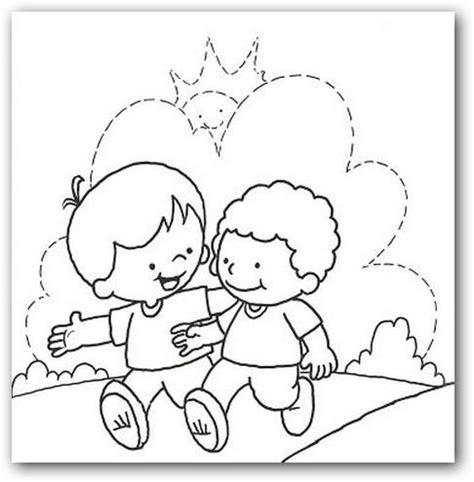 dibujos biblicos sobre la honestidad para colorear imagui amistad como valor para colorear imagui