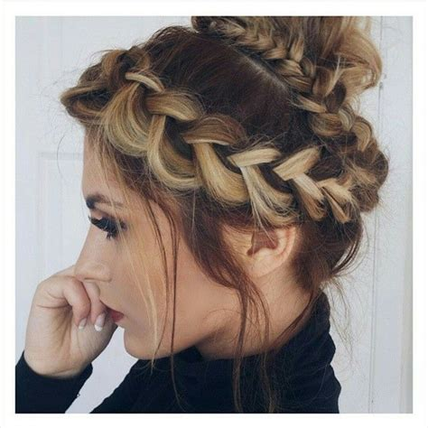 wrap around braid black hair 303 best messy buns images on pinterest hair style