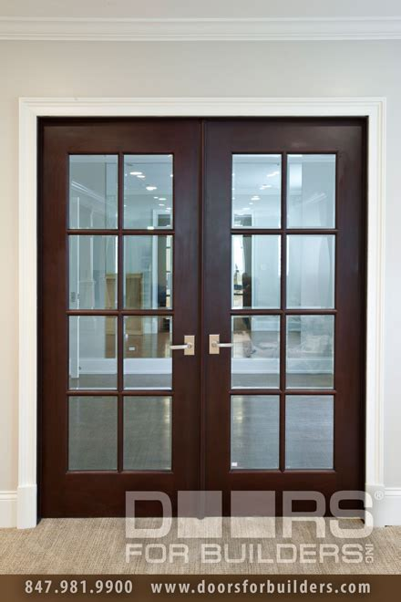 interior wood and glass doors interior door clear glass with grills custom wood
