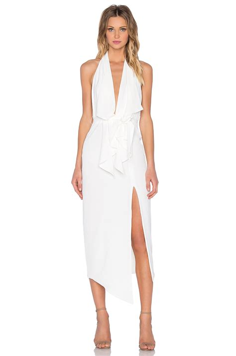 Net A Porter Cruise Collection And 50 Sale by Misha Collection Dress In White Save 30 Lyst