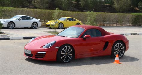 Porsche Kuwait by Porsche Centre Kuwait Puts Driving Enthusiasts To The Test
