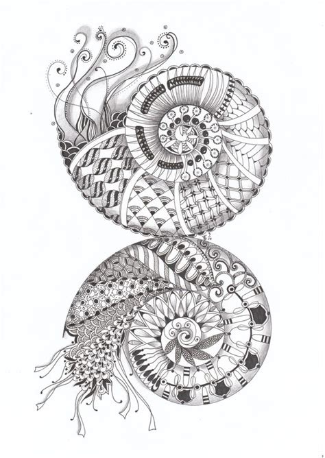 doodle snails meaning string theory divas and spirals on