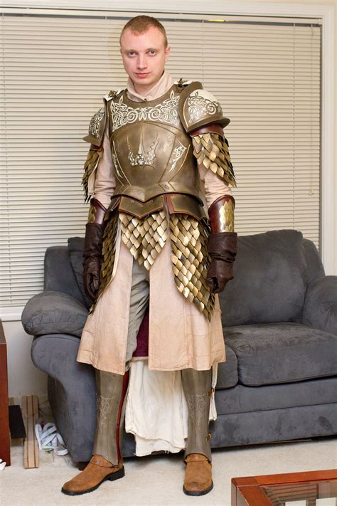 dyeing fabric  game  thrones kingsguard armor