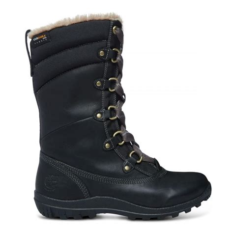 stiefel schwarz timberland mount hope winter boot damen