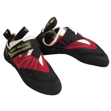 scarpa climbing shoes scarpa vision v rock climbing shoes for and