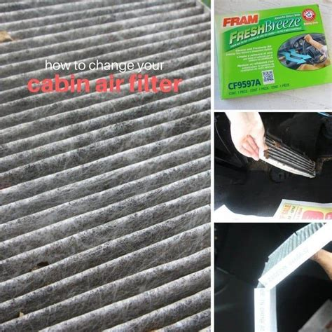 How Often To Change Cabin Air Filter by Car Maintenance Changing The Cabin Air Filter Sugar