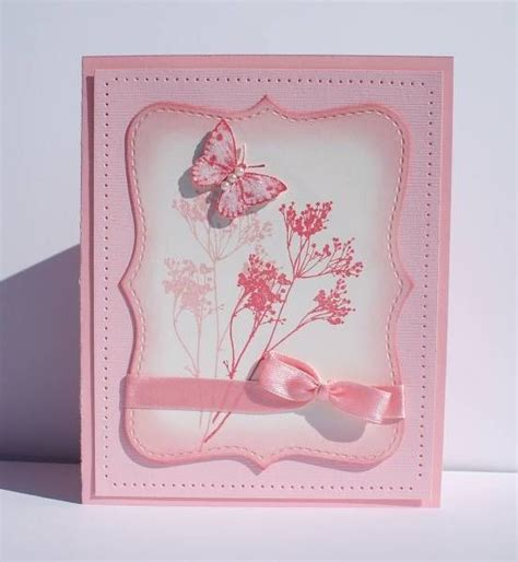 Pink Handmade Cards - best 25 pink cards ideas on
