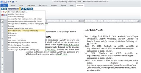 latex tutorial harvard convert word to ieee format